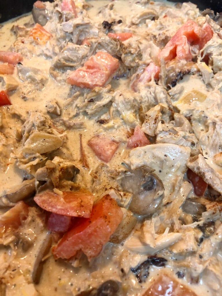 Creamy Chicken Skillet Dinner