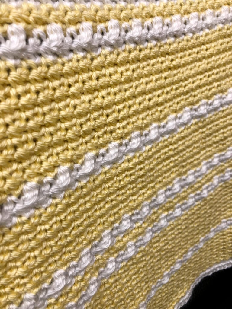 Berry Stitch Baby Blanket