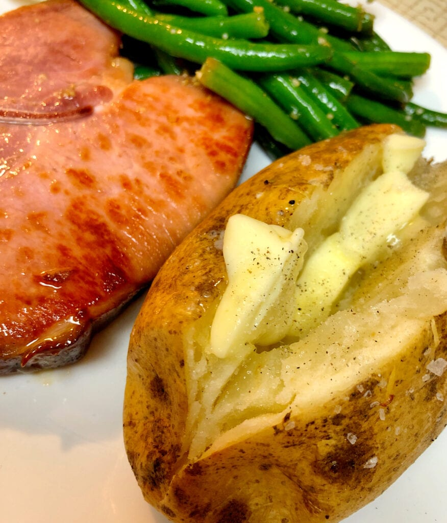 Baked Potato as a Side Dish