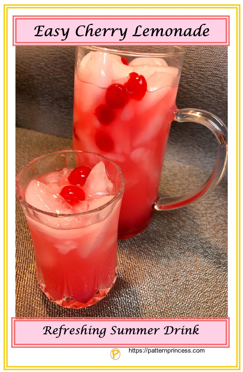 Easy Cherry Lemonade Recipe