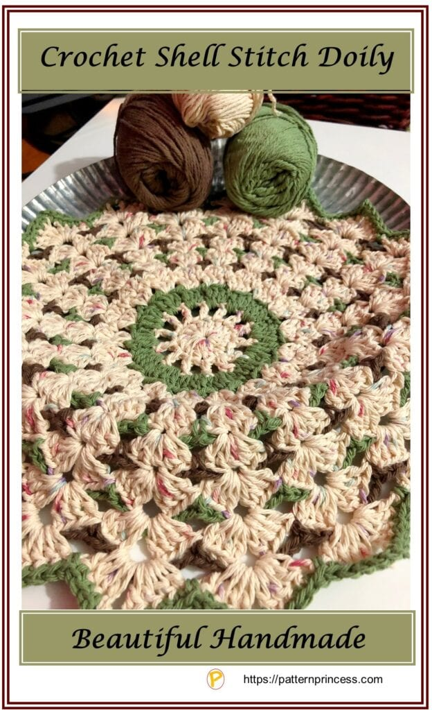 Crochet Shell Stitch Doily