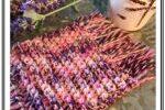 Ribbed Crochet Mug Rug Coaster