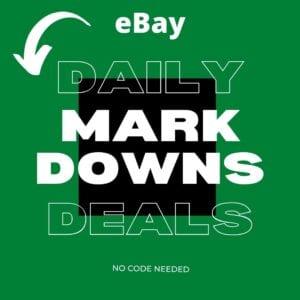 Ebay Daily Deals Mark Downs