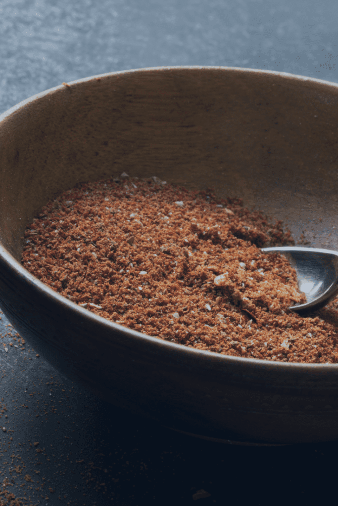 Homemade Taco Seasoning Mix in a Bowl