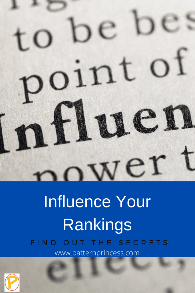 Influence Your Google Ranking
