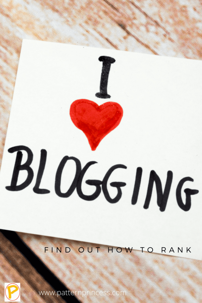 Love Blogging and Rank for Keywords