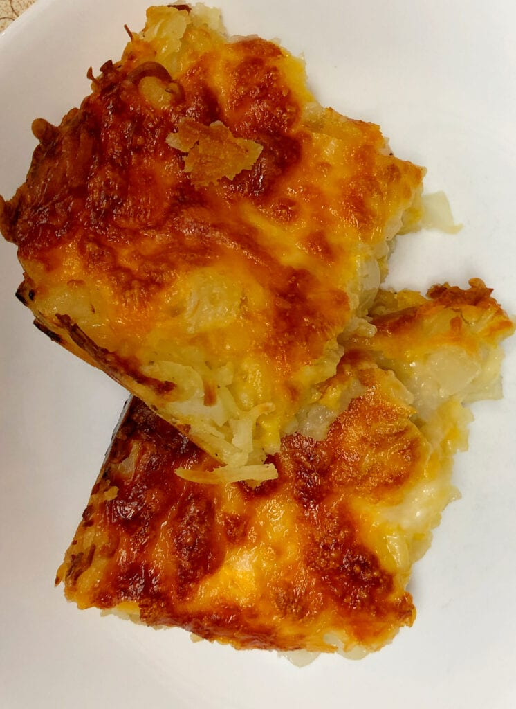 Homemade Potato Casserole Just Like Restaurant Potato Side Dish - Even Better