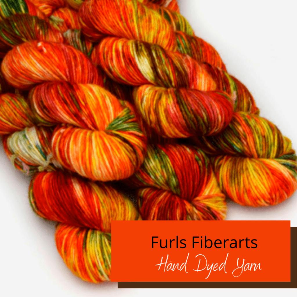 Furls Fiberarts Hand Dyed Yarn