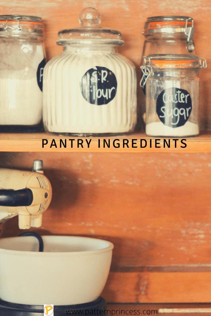 Pantry Ingredients