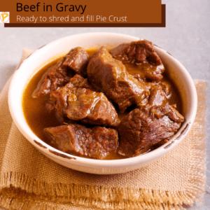 Beef in Gravy