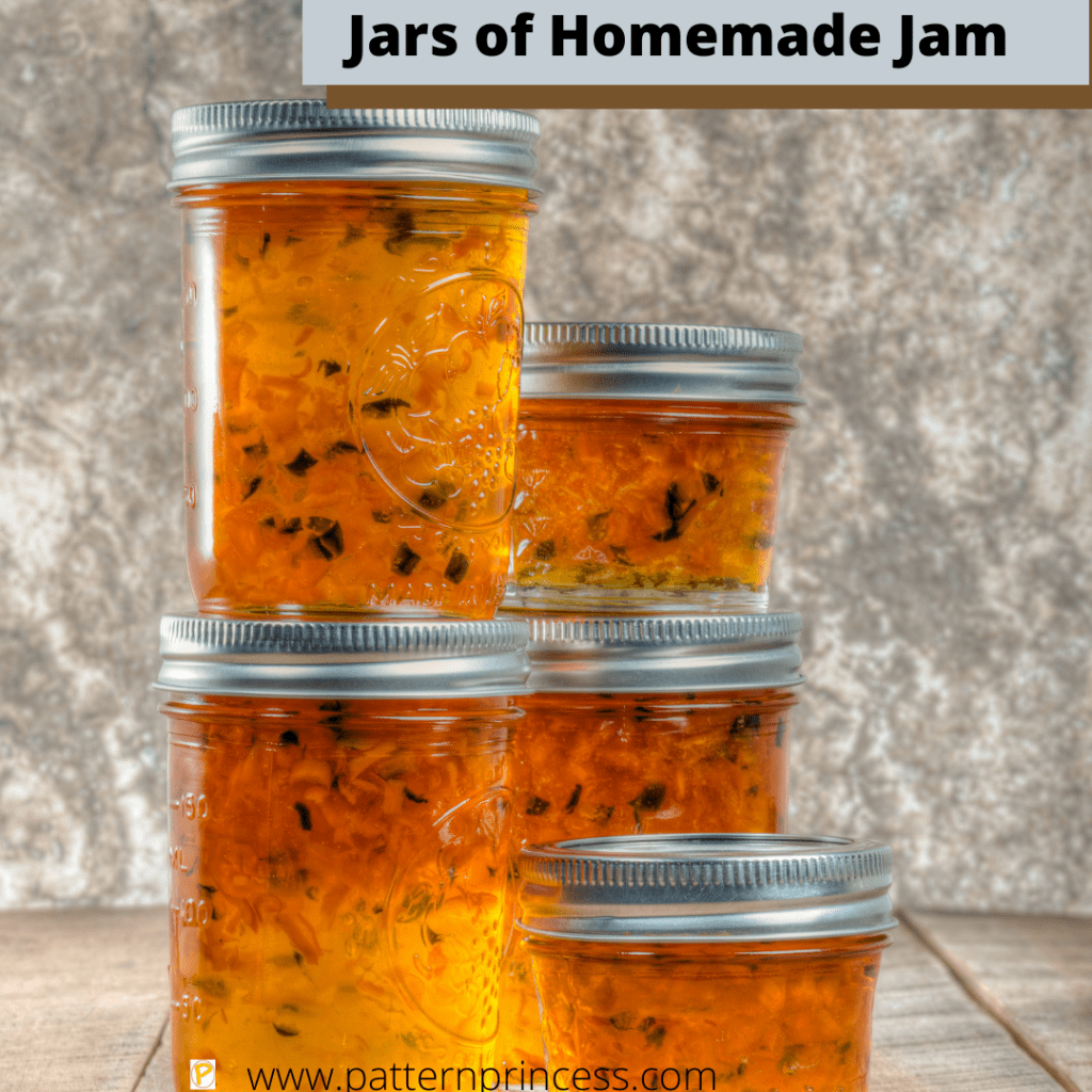 Jars of Homemade Jam