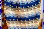 Bobble Blanket Decked in Blue