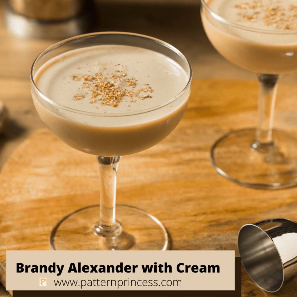 Brandy Alexander with Cream