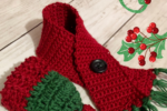 Holiday Wine Bottle Scarf & Hat Cozy