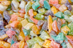 Old-Fashioned Stained-Glass Rock Candy