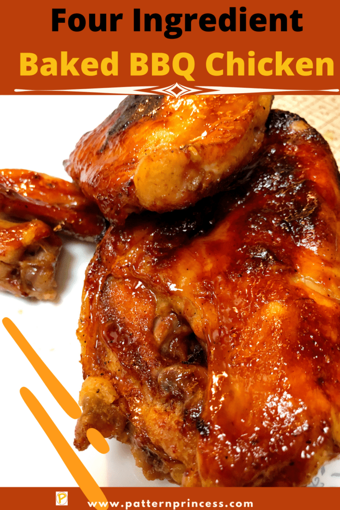 Four Ingredient Baked BBQ Chicken