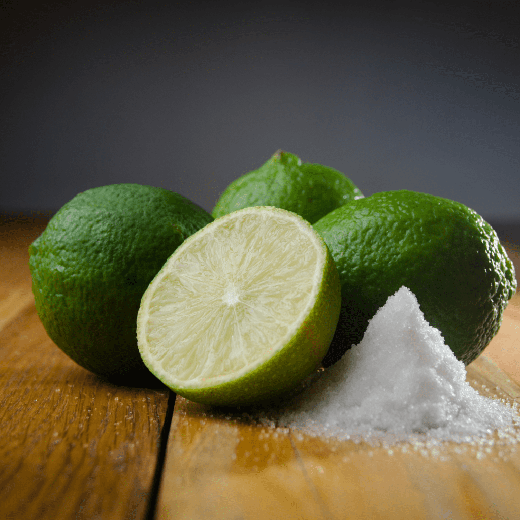 Fresh Lime and Salt