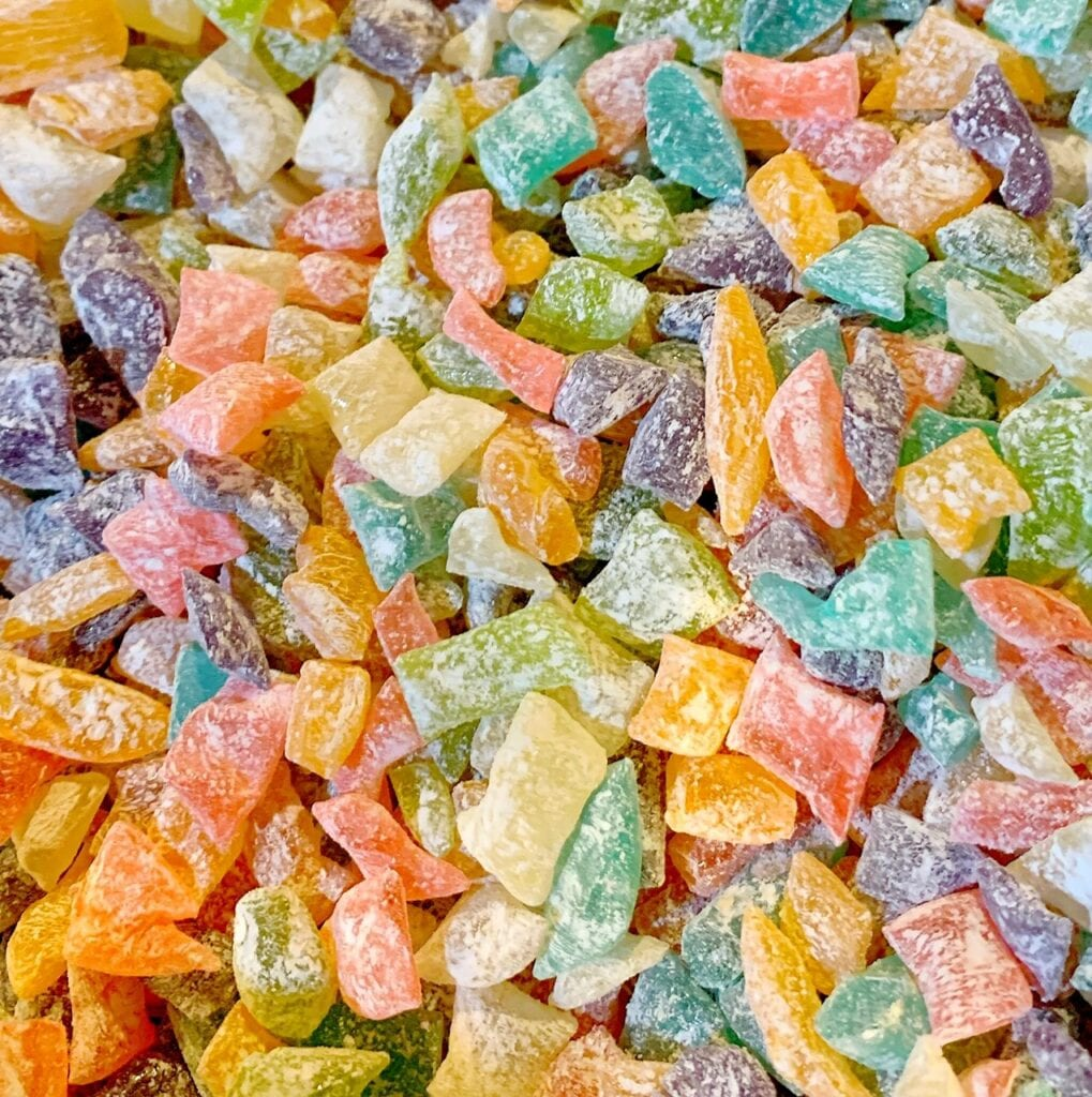 Rainbow of Colors and Flavors for this Sweet Confection