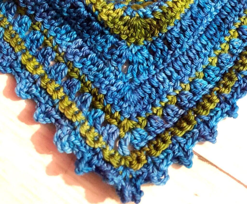 Picot Stitch close up