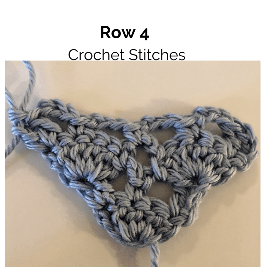 Row 4 Crochet Stitches