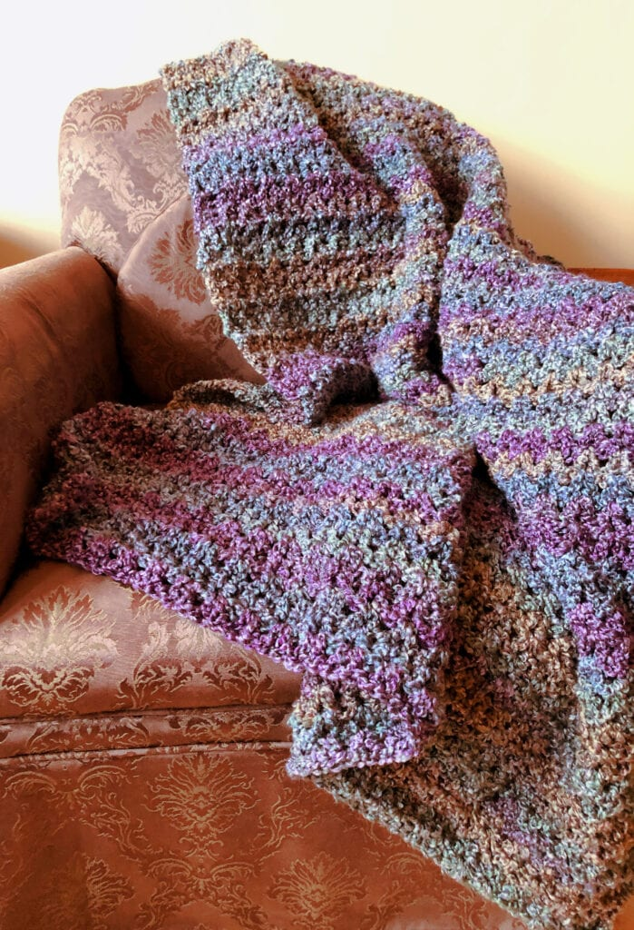Soft Cozy Crochet Throw