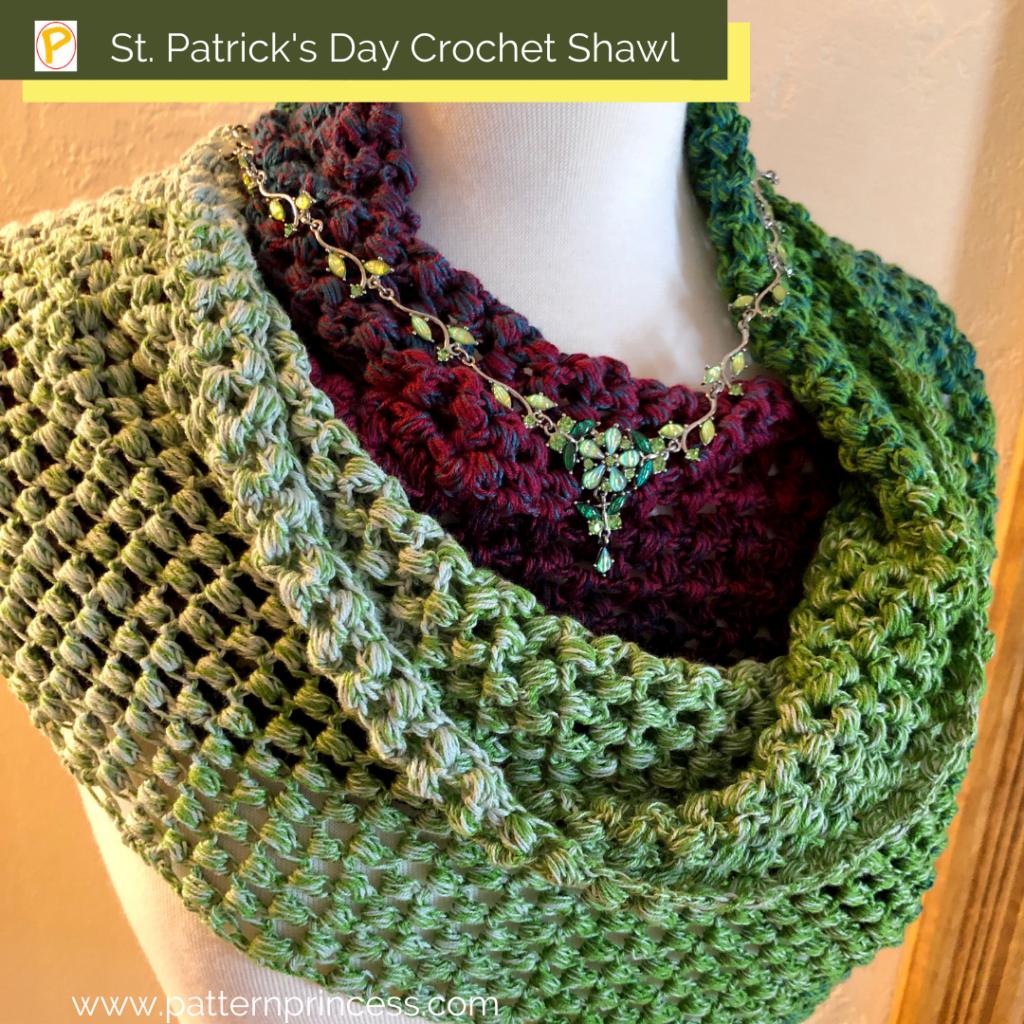St. Patrick's Day Crochet Shawl