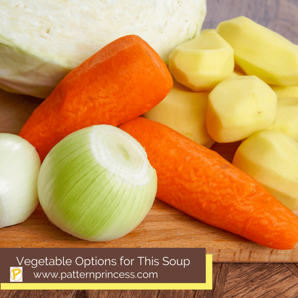 Vegetable Options for This Soup