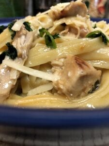 Garlic Butter Pasta with Chicken