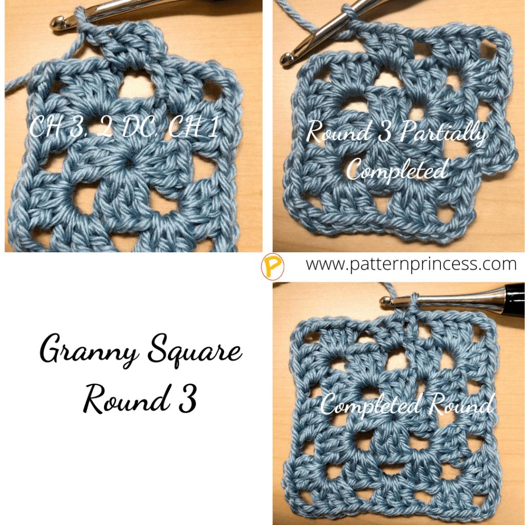 Granny Square Round 3