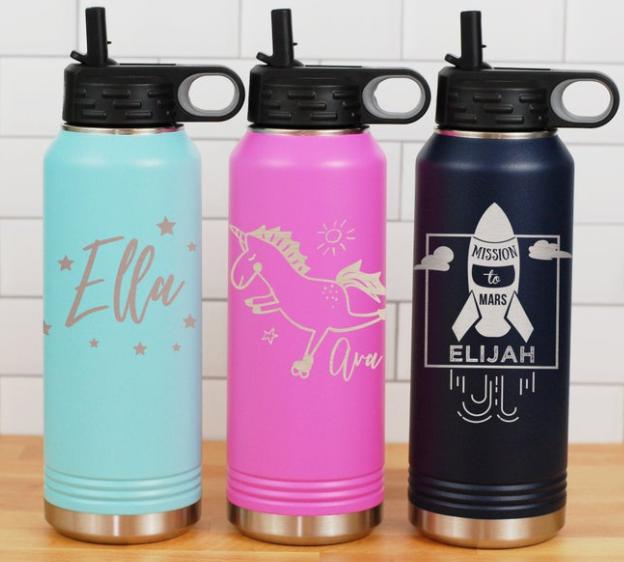 Custom Water Bottle for Kids