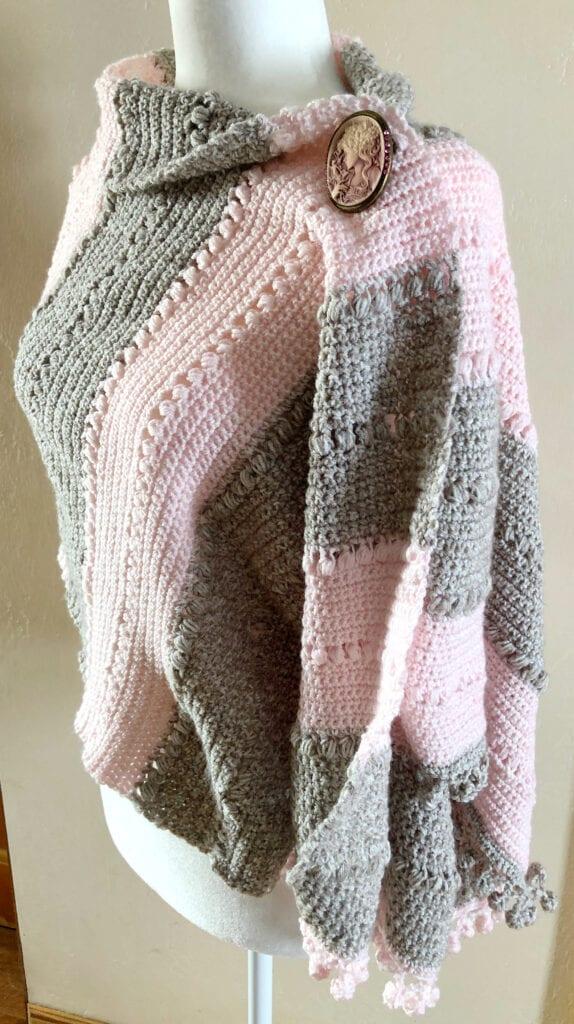 Dancing Baubles Crochet Poncho