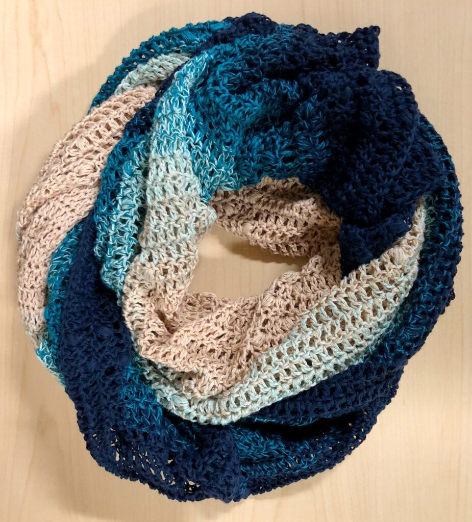 Lacy Crochet Scarf Accessory