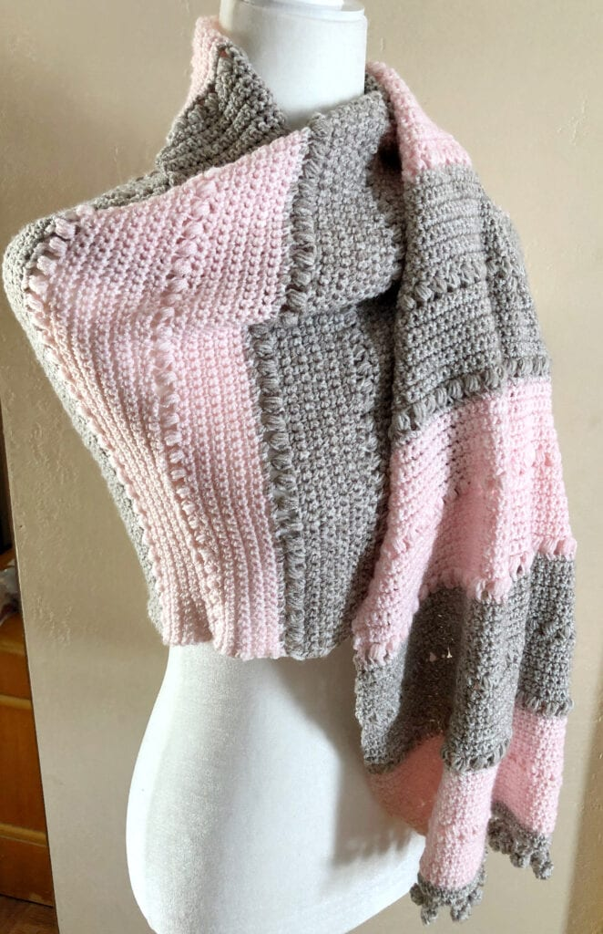 Versatile Crochet Shawl Wrap Pattern
