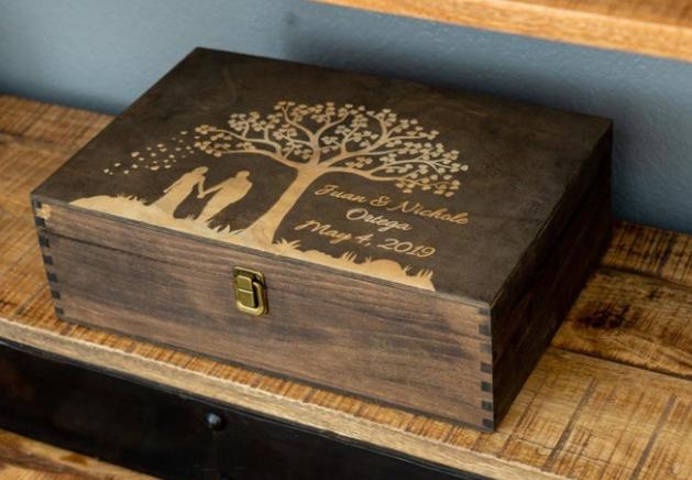 Wood Memory Box
