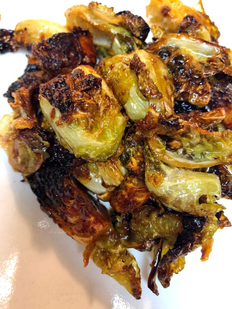 Crispy Caramelized Sprouts