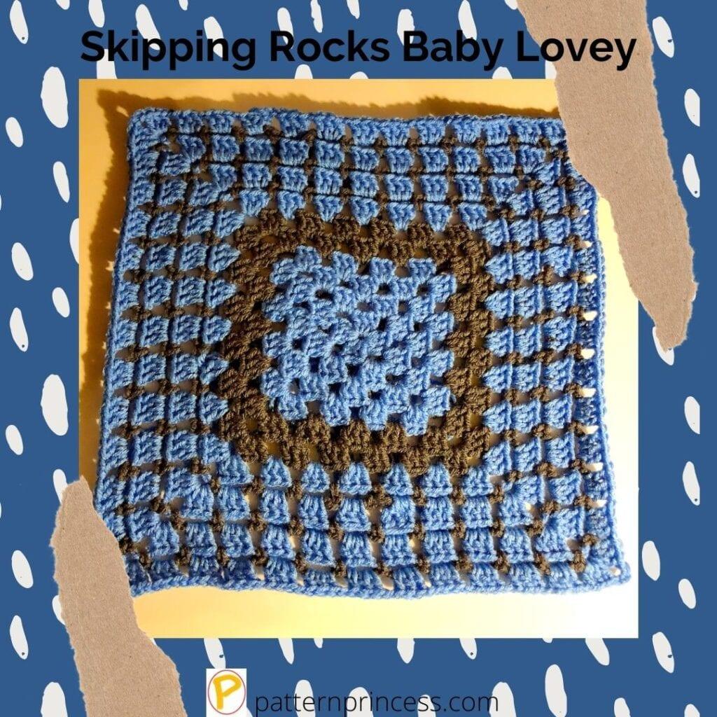 Skipping Rocks Baby Lovey 1
