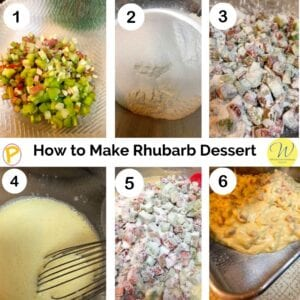 How to Make Rhubarb Dessert