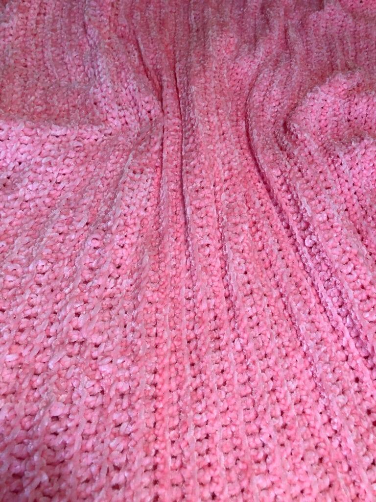 Luxurious Plush Crochet blanket