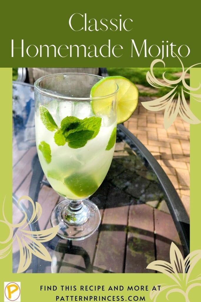 Classic Homemade Mojito