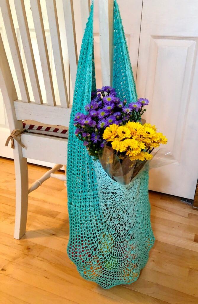 Crochet Sturdy Mesh Tote