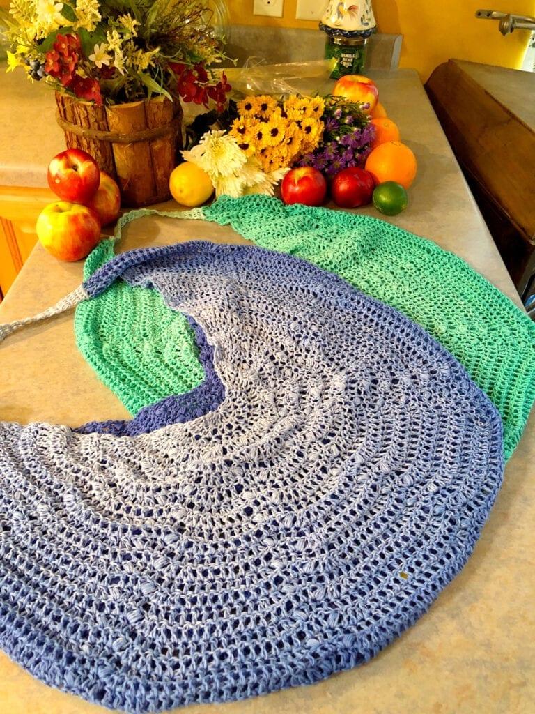 Elegant Crochet Market Bag