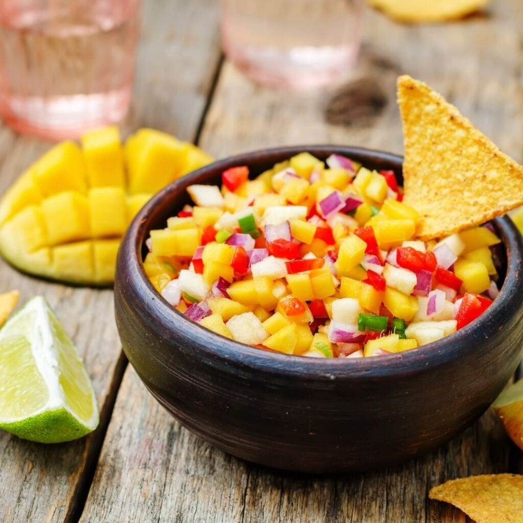 Mango Salsa Salad
