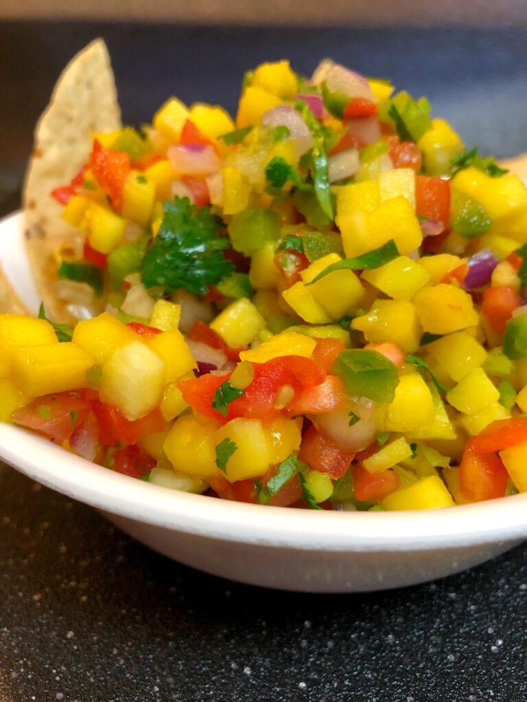 Mango Side Dish Salad