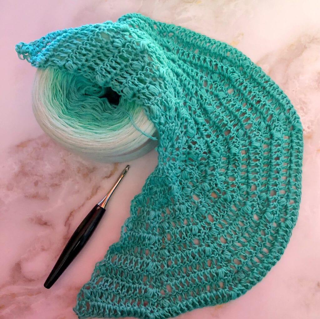 One Skein Fingering Yarn Crochet Bag