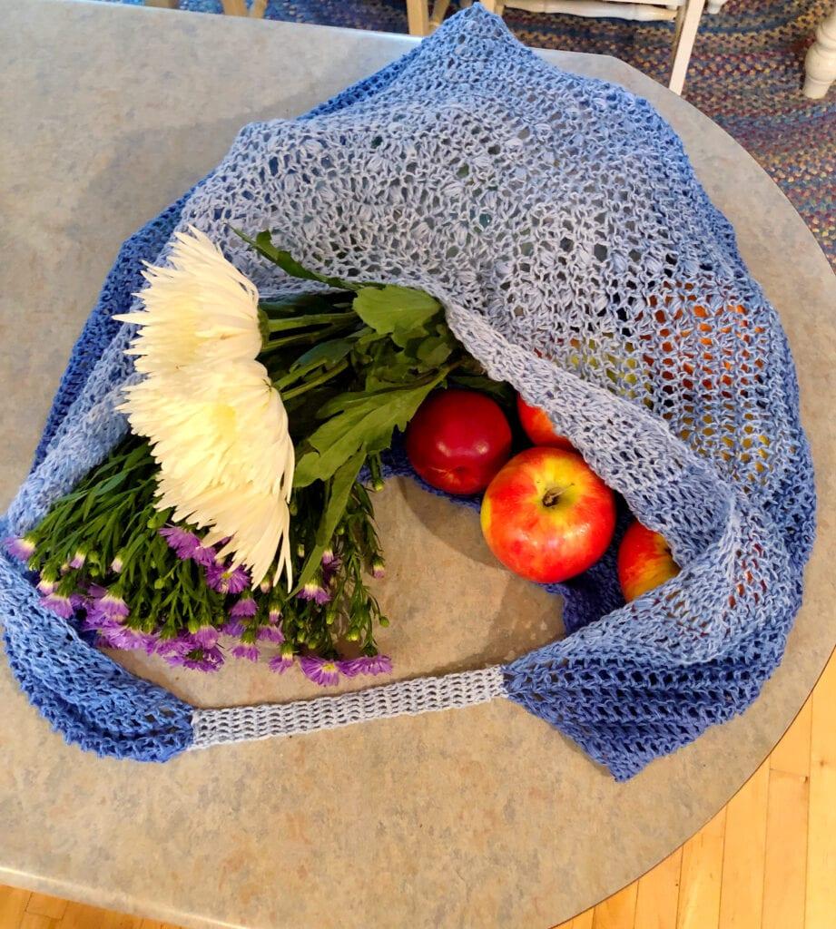 One Skein Reusable Shopping Bag